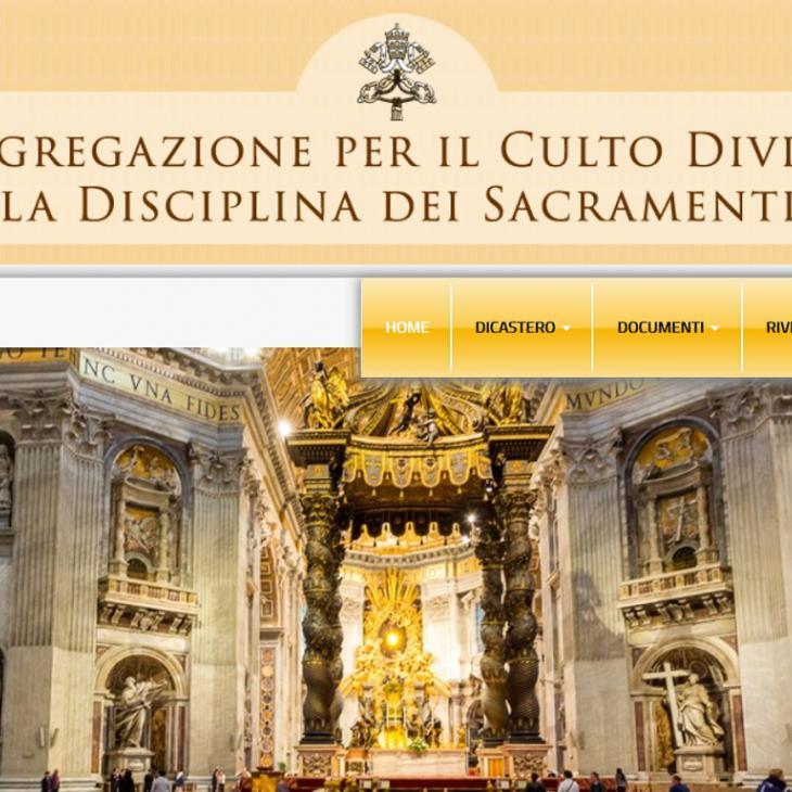 Congregatie van de Eredienst in Rome